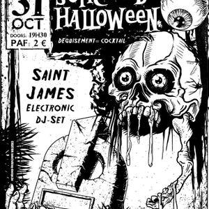 Saint James Electronic @ Halloween Party - Mj Rixensart - 31.10.2013