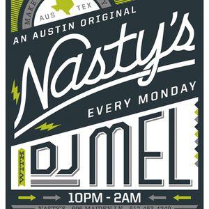 DJ Mel - The Warm-Up Set @ Nasty's - 07.13.15