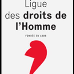 Gérard Audibert, Président et Pierre Vasse, Membre de la Ligue des Droits de l'Homme, Villeneuve/Lot