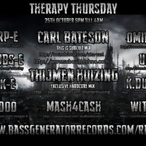 Bass Generator Records Therapy Thursdays - Ominous