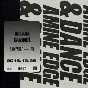 2018.12.25 - Amine Edge & DANCE @ Villaga Canindé, São Paulo, BR