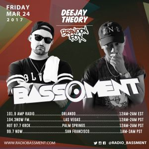 The Bassment 3/24/17 w/ Deejay Theory