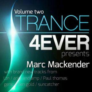 "Marc Mackender - ""trance 4 ever mix"" vol 2"