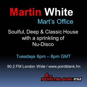30.06.15 - Martin White Point Blank FM