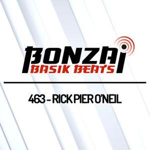 Bonzai Basik Beats #463 (Radioshow 19 July 2019 - Week 29 - mixed by Rick Pier O'Neil)