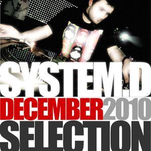 December 2010 Selection