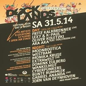 Man At Arms @ Docklands Festival 2014 Day & Night - Hafen Münster - 31.05.2014