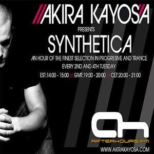 Akira Kayosa - Synthetica 044 24th May 2011 ft Joe Berelli