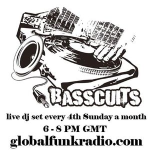 dj [h] - basscuits @ global funk radio january 2012