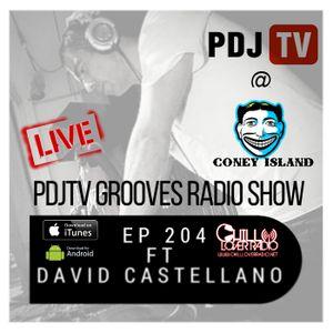 PDJTV Grooves Radio Show Ep 204