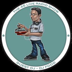 45 Live Radio Show pt. 43 with guest DJ STRICTLY KEV aka DJ FOOD