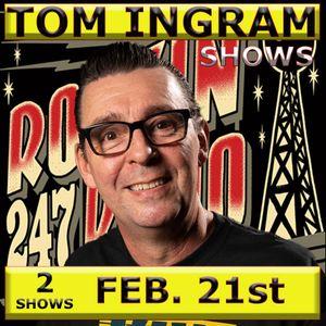 Tom Ingram Shows Feb 21st 2021