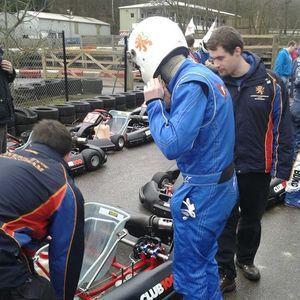 UOB Karting (BUKC R1 at Buckmore Park) 12/2/14