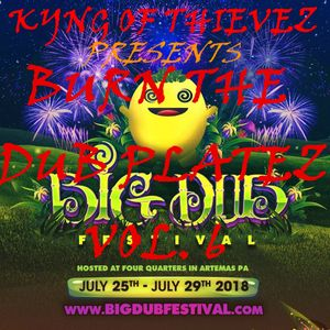Kyng of Thievez - Burn The DUB Platez Vol.6