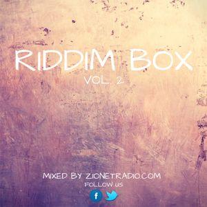 Riddim Box Vol.2 Reggae mixed by Zionetradio.com
