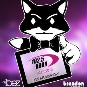 DJ B-EZ on 102.5KDON 02.12.2013