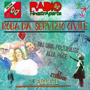 Roba da Servizio Civile - pellegrinaggio da Roma a Katowice con Claudia Alongi