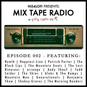 Mix Tape Radio on Folk Radio UK | EPISODE 002