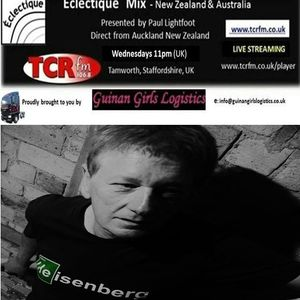 eclectique NZ & Australia with Paul Lightfoot. Replay of UK broadcast on TCR FM