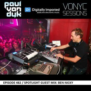 Paul van Dyk – Vonyc Sessions 482 [19.11.2015] Guest mix Ben Nicky