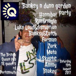 DJ BLAKEY . BANKSYnDUNN GARDEN PARTY.