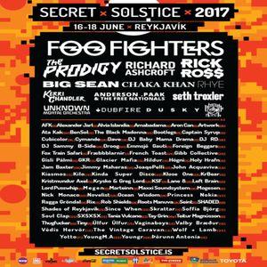 Dubfire - Live @ Sci-Tec, Secret Solstice, Reykjavik, Iceland 18.06.2017