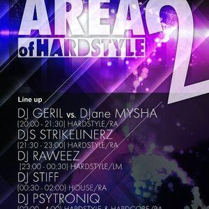 Raweez @ Area Of Hardstyle 2