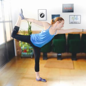 Heather Anderson chats about HOT Yoga in Barcelona