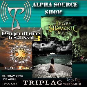 Alpha Source Show 0412 DarkShire - Psyculture - Nabi and Samana