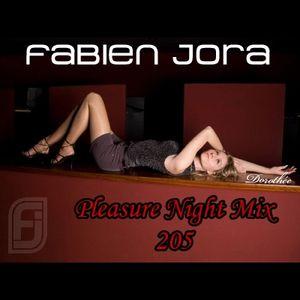 Fabien Jora - Pleasure Night Mix 205
