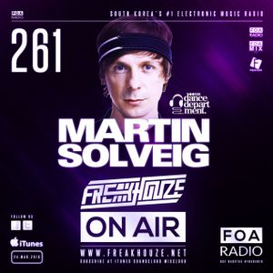 Freakhouze On Air 261 ● Martin Solveig @ Dance Department