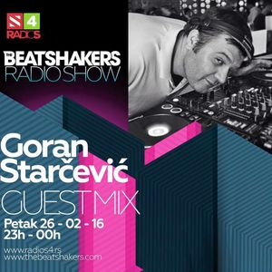 The Beatshakers Radio Show - Guest Mix Goran Starcevic