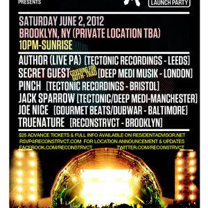 Author aka Jack Sparrow & Ruckspin -Live- (Tectonic) @ Outlook Launch Party - New York (02.06.2012)