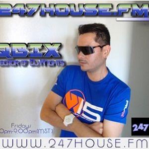 DJ QBIX LIVE@247HOUSE.FM DJK#261pt.2 TECHNO 63-2016