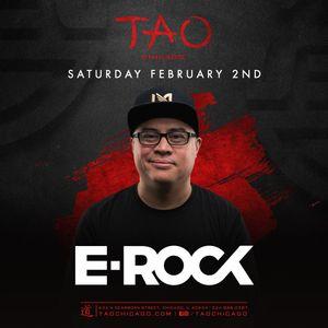 DJ E-ROCK LIVE AT TAO CHICAGO 2/2/19