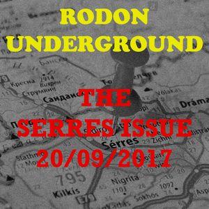 Rodon Underground vol.2: The Serres Issue - 20/09/2017