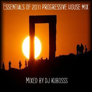 Essentials of 2011 progressive house mix