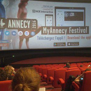 Marché-parlé #29 Mon festival d'Annecy (Festival International du Film d'Animation - Annecy 2016)