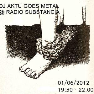 dj aktu of the darkness@ radio substancia