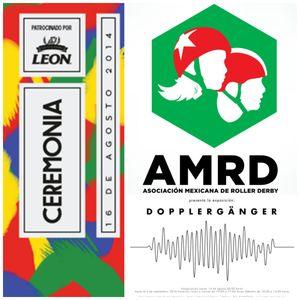 Sensor 74: Ceremonia 2014, Roller Derby México, Döpplerganger, TOCA diseño, Ty Segall