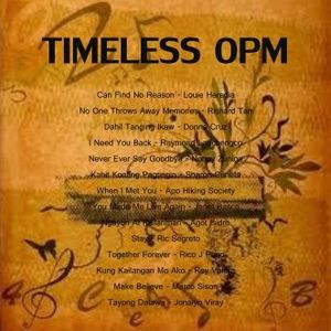 TIMELESS OPM COLLECTION