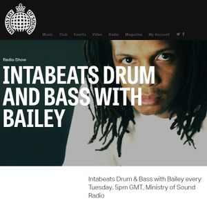 Bailey 'Calibre Lost Dubs' Mix on Ministry of Sound Radio - Part 2