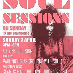 Seamus Haji & Paul Nicholas - Soul Sessions in Eastbourne - 02.04.17