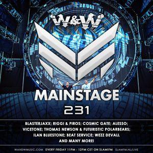 W&W - Mainstage Podcast 231 2014-11-07
