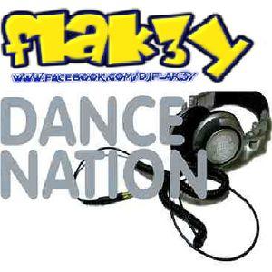 Flak3y - DanceNation (January 2013 MEGAMIX)