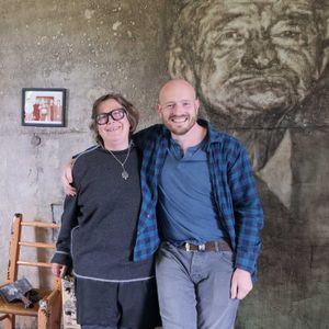 'Folk Radio' artist Tom Flanagan in conversation with X-PO founder, artist Deirdre O'Mahony