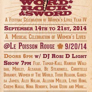 WORD, ROCK, SWORD: A CELEBRATION OF WOMEN'S LIVES IV