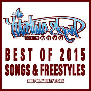 "The Halftime Show w/DJ Eclipse ""Best of 2015 Songs & Freestyles"" 89.1 WNYU January 13, 2016"