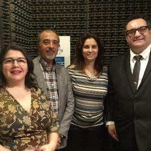 Claudia Arecha, Luis de Salvo y Arnaldo Luna
