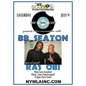 V-Tone's live conversation with Ras Obi & B.B. Seaton on The NYMLA July 10-2017